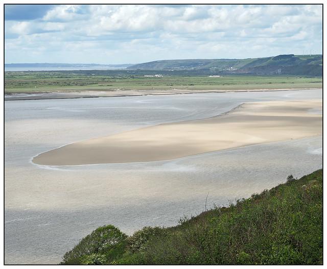 2021-0262 - Taf Estuary from Wharley Point, Llansteffan, Carmarthenshire.