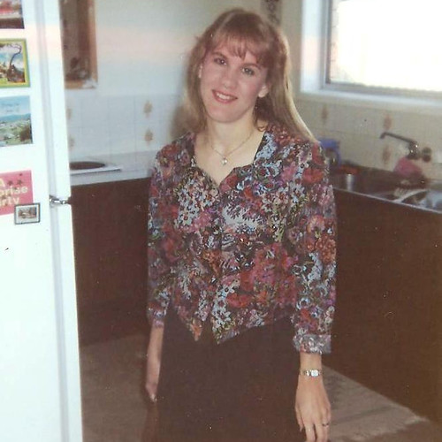 makeup on and ready for work 1990