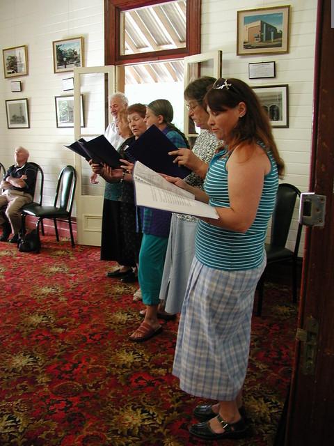 A little concert in Fairymead House