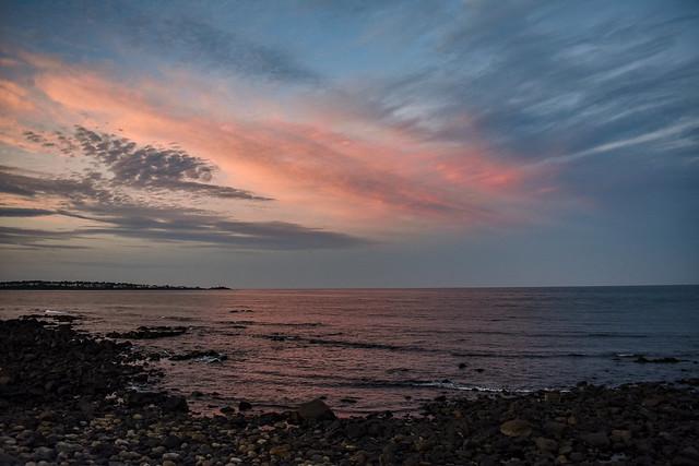 Long Sands Beach at Sunset, York, Maine