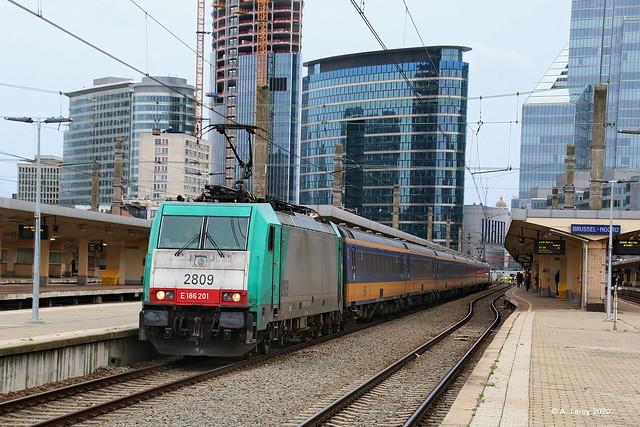 SNCB 2809 Bruxelles-Nord 01-03-2020