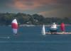 Sailing Portland Harbor Maine