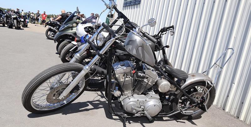 """Harley Davidson Chopper """"cadre rigide"""" et rouille apparente  51244133387_74cb1a2b4f_c"""