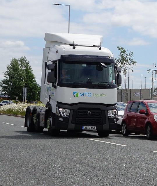 MTO Logistics Renault T BU69 XSX