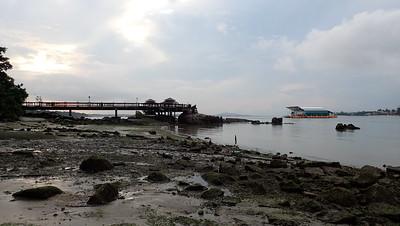 Large fish farm off Pulau Ubin