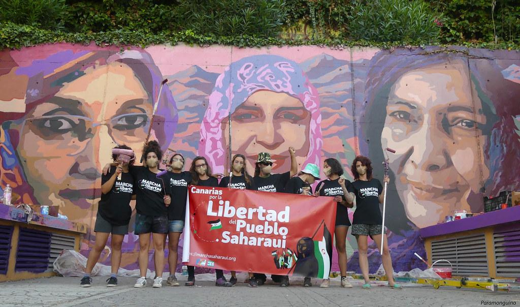 Canarias por la libertad del Pueblo Saharaui