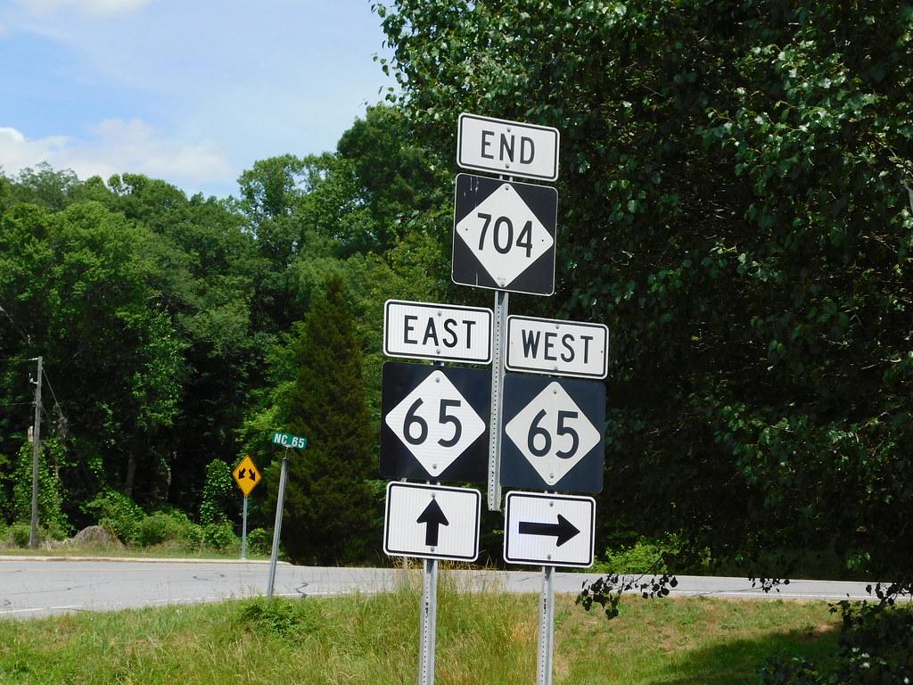 North Carolina Road Signs