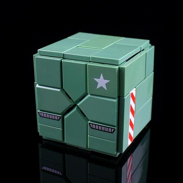 LEGO Transform Mech/CUBE-ROBO 08[CUBE-ARMY β]