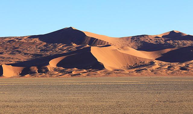 Dunes  at Sossusvlei – Namib desert - Namibia
