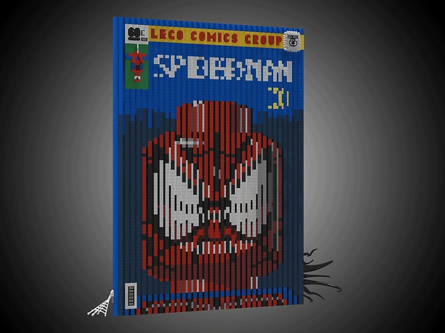The Lenticular Spider-Man Cover animated