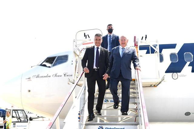 Vizita preşedintelui Statului Israel în România