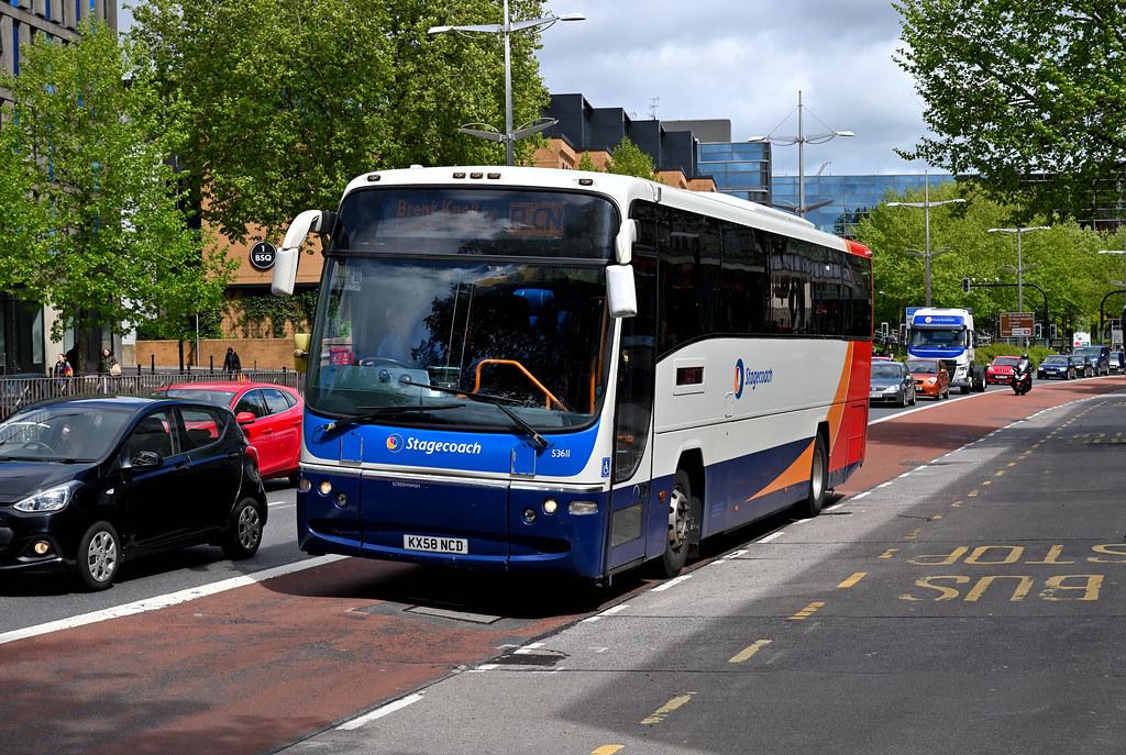Stagecoach South West - KX58 NCD (53611) - Bristol, Bond Street