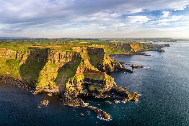 'The Giants Causeway - Cliff Tops'
