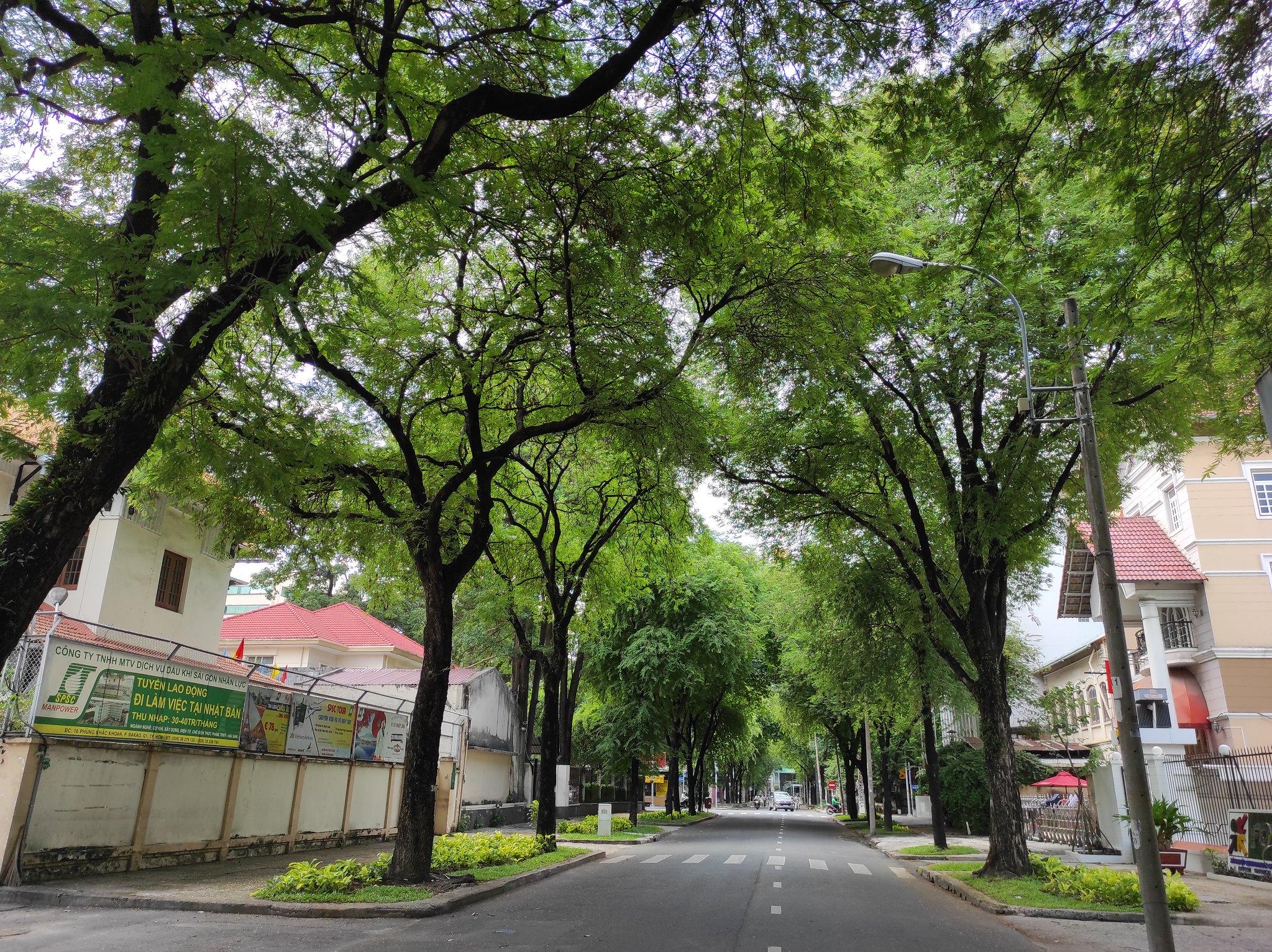 Hochimin city with Covid-19