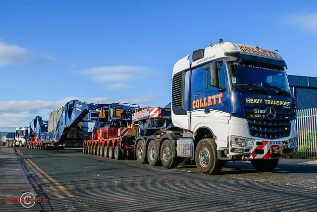 Collett's Heavy Transport - Merc Arocs 8x4.