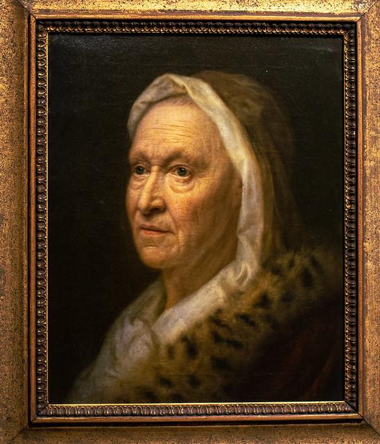 Bildnis einer alten Dame
