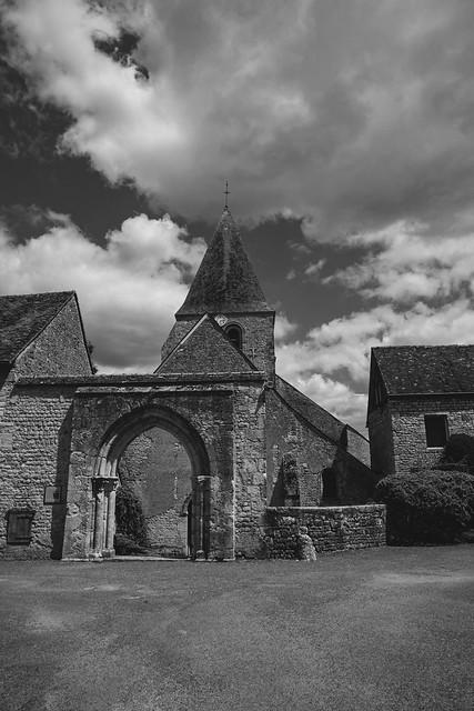 Eglise Saint Gault, Yevre le Chatel