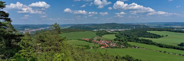 Saale valley near Rudolstadt