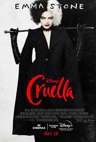 Cruella. Póster de la película.