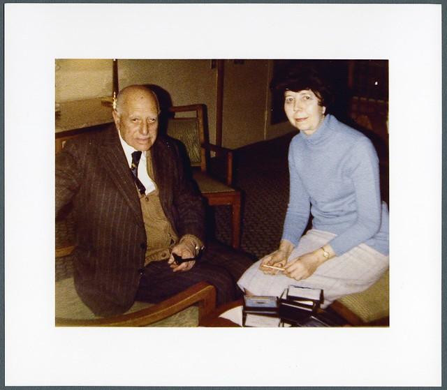 Ragheb Moftah and Marian Robertson-Wilson in Cairo 1984
