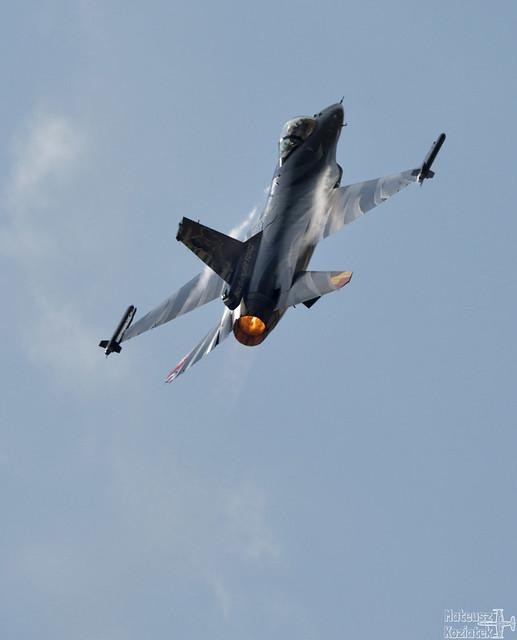 Belgian Air Force General Dynamics F-16A Fighting Falcon FA-101