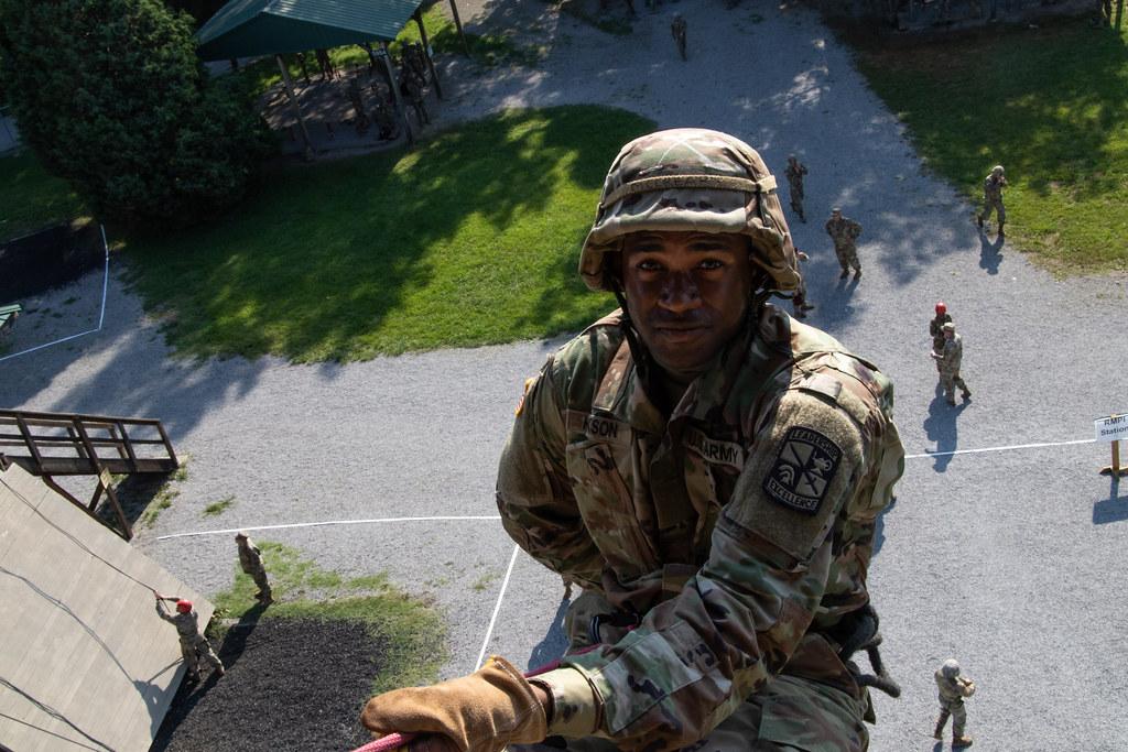 2nd Regiment Advanced Camp Rappel Tower & Confidence Course