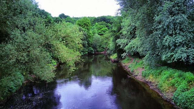 River Irwell, Kersal