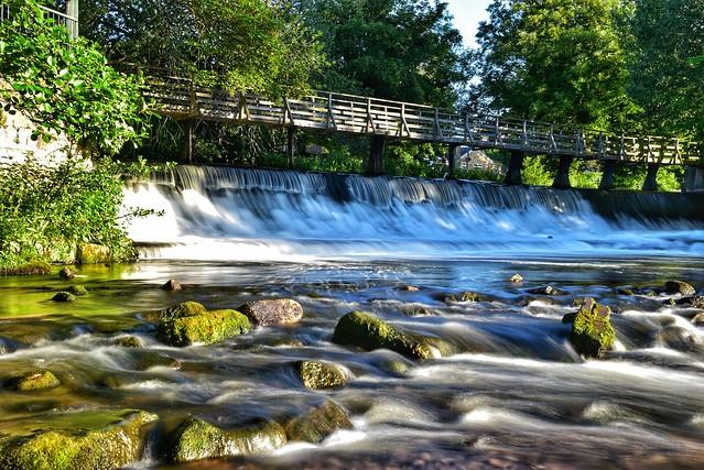 Darley Abbey Weir