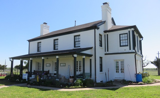 Old Fort Reno Commanding Officer's Quarters (Canadian County, Oklahoma)