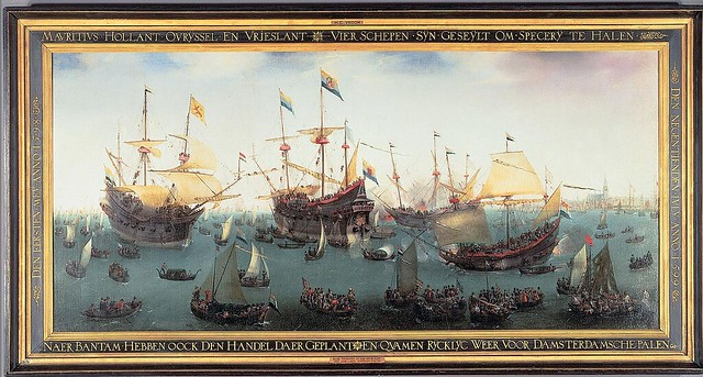 Second fleet of East-India Men is back in Amsterdam
