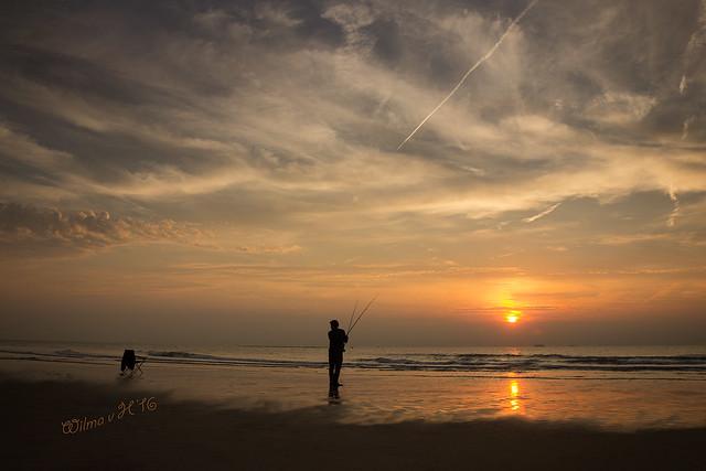 Fisherman on Maasvlakte Strand - Rotterdam 2021 - Explored 13 June 2021