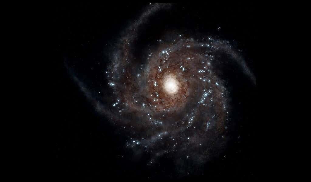 La matière noire ralentit la plaque d'étoiles au centre de notre galaxie