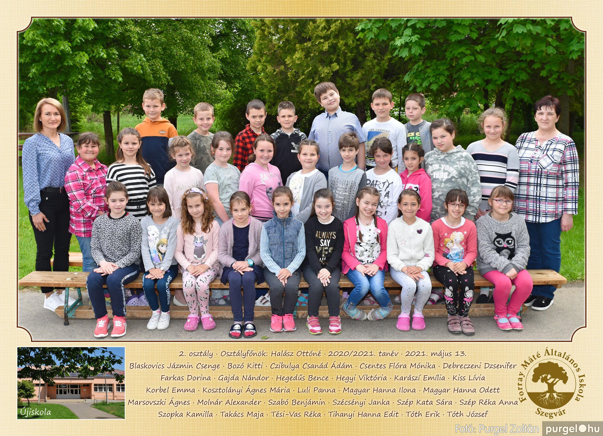 2021.05.13-06.12. 002 Forray Máté Általános Iskola osztályképek 2021. 2. osztály - Fotó:PURGEL ZOLTÁN©.jpg