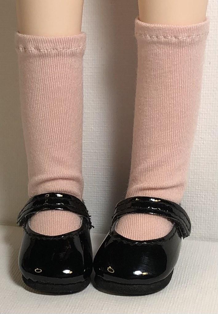 Blush…Short Socks For Gorjuss Dolls…