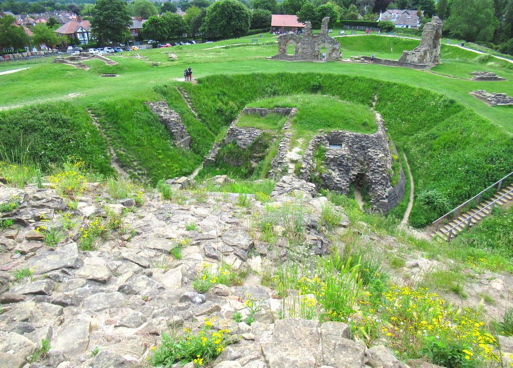 Sandal Castle (13/06/21) Ruined Medieval Castle @ Wakefield, West Yorkshire, England, UK