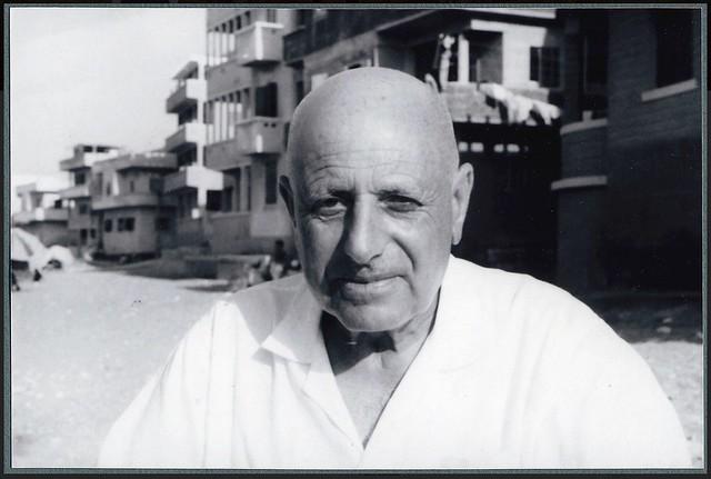 Ragheb Moftah in Abu-Kir Alexandria ca. 1970s