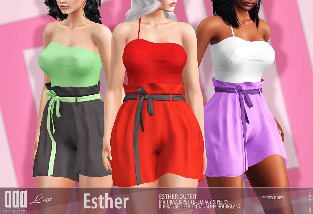 New release – [ADD] Esther Outfit