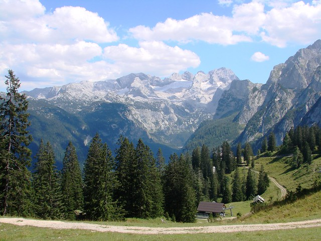 Dachstein Mountains in Austria [on Explore at 13/06/2021]
