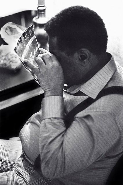 Dizzy Gillespie - contact sheet