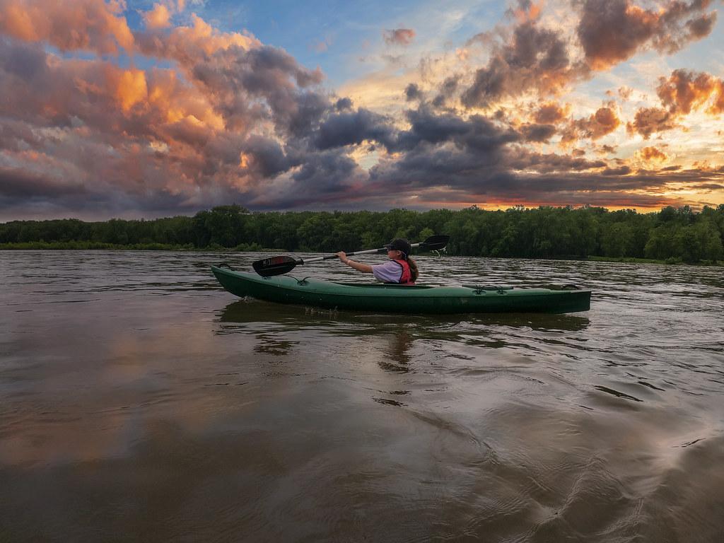 Kayaking the Potomac