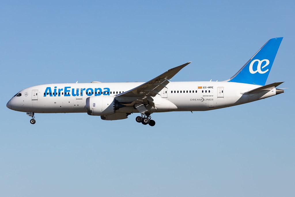 B787-8 / Air Europa / EC-MPE