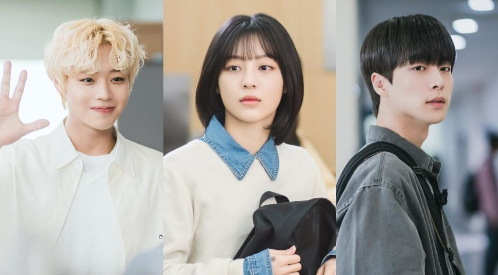 Blue Spring From A Distance A Love Triangle Will Begin This Summer July 14