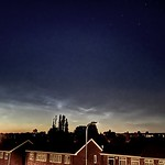 12. Juuni 2021 - 23:49 - Lovely display of noctilucent cloud viewed north of Scunthorpe UK last night 12.06.21