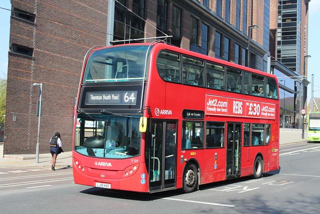 Arriva London T127, LJ10HVG - Route 64   West Croydon Bus Station
