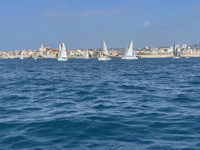 Régate des 3 baies à Antibes
