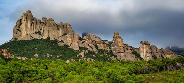 Montserrat desde el Coll del Bruc