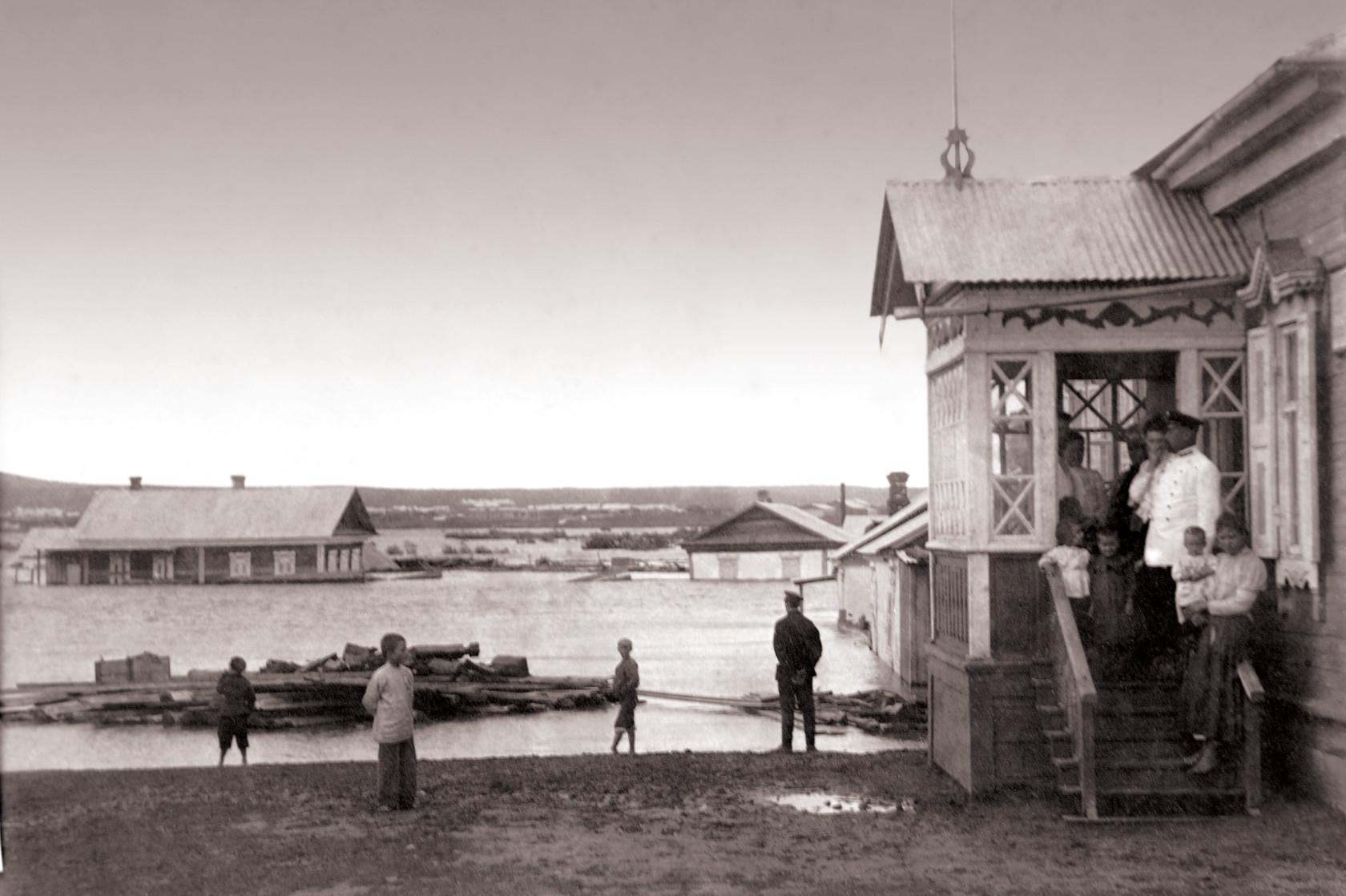 Наводнение. 1900