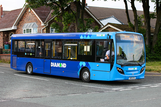 Diamond Bus North West Alexander Dennis Enviro 200 30971 SK15 GYA