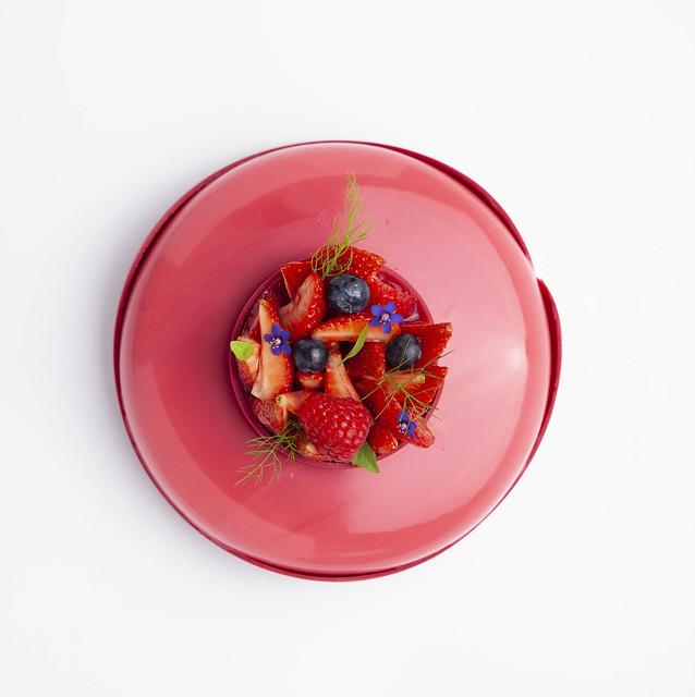 Tarta de yogur, frutos rojos y cheesecake 4-2
