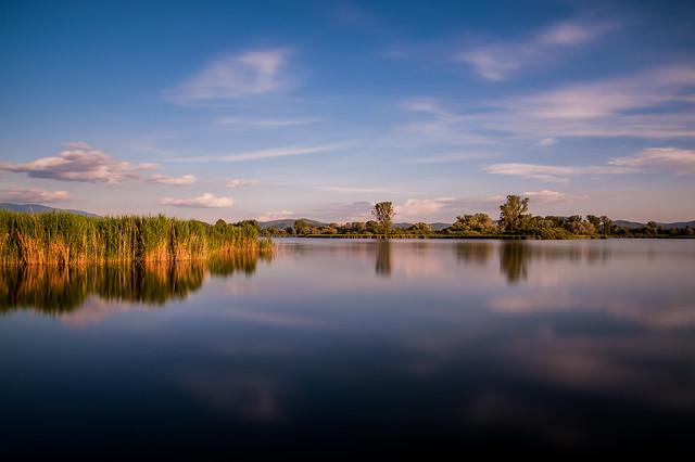 ... nella riserva dei laghi (lunga esposizione 01) ...